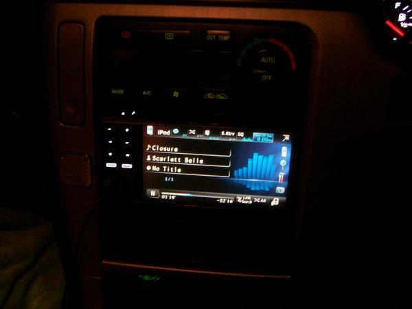 5.8 inch pioneer touch screen console