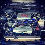 Blitz BOV, Grimmspeed Alternator Cover, Zerosports Intake, Z32 70mm MAF, Zerosports Radiator Cover.